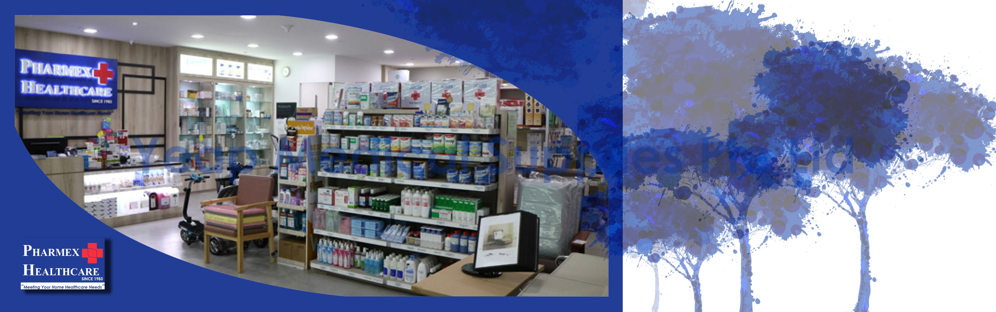 Our Retail Subsidiary | Pharmex Healthcare | Meeting Your Home
