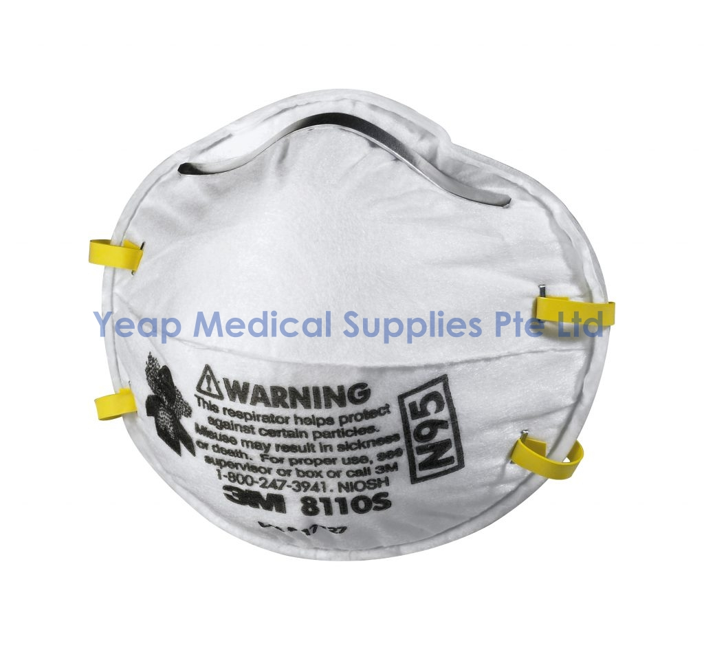 – N95 Particulate Yeap Respirator Medical 3m