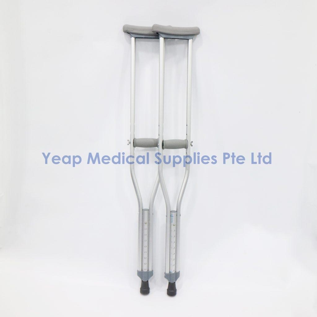 ASSURE Rehab Aluminium Crutches – Yeap Medical